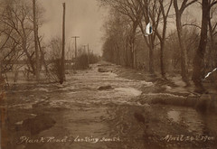 Plank Road Flooding, 4-29-1900, Lkg S, PPL