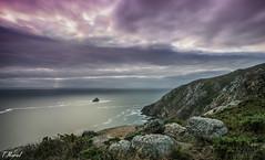 Finisterre (tmuriel67) Tags: sunset sea espaa seascape nature atardecer spain nikon flickr outdoor magenta galicia nubes atlanticocean ocaso finisterre costadamorte ndfilters