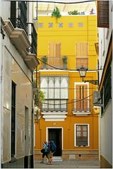 A Sevilla, Andalucia, Espana (claude lina) Tags: claudelina espana spain espagne andalucia andalousie sevilla sville ville town city architecture maison house