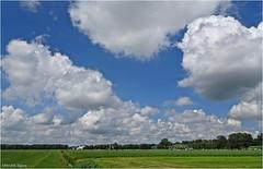 Heiteln Homeland #44 (Hindrik S) Tags: heiteln homeland landscape landschap land frysln friesland frisian sky clouds wolken bluesky green grien groen nederland nederlandvandaag cloudhunting greide pasture weide weiland sonyphotographing sony dschx90v f35 12000 41mm iso80