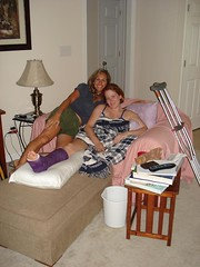 karen13_02 (cb_777a) Tags: broken leg ankle foot cast crutches toes usa