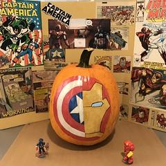 Pumpkin Decorating Competition (Perfectance) Tags: citi fall fest festival super hero halloween decorations pumpkin pumpkins decoration paint idea ideas
