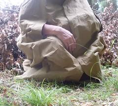 Rainmac-gummi-beige-SDC17593 (Umhaenge2010) Tags: cape cloak cloack umhang regenumhang raincape capeimpermable