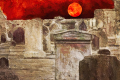 in the mood (Hal Halli) Tags: halloween gravestones graveyard netartii artdigital scary spooky