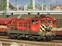 Mv Start 448 438 (boti_marton) Tags: mv mvstart ganz m44 class448 448 locomotive diesel train transport trainstation bobo budapest hungary magyarorszg panasonic dmc lz20 lumix europa