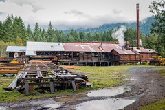 McLean Mill National Historic Site. (ausmc_1) Tags: tamronsp2470mmf28divcusd mcleansmill portalberni salmon d800 2016 sawmill hatchery cherrycreek canada school britishcolumbia nationalhistoricsite vancouverisland