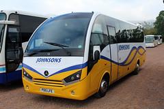 Johnsons, Henley-in-Arden PO15 LFE, Mercedes Atego in Cheltenham (majorcatransport) Tags: warwickshirebuses johnsonshenleyinarden mercedesbenz mercedesatego unvi cheltenham