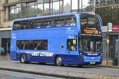 First AD Enviro 400MMC 33434 SN66WGE - Edinburgh (dwb transport photos) Tags: first alexander dennis enviro 400mmc bus decker 33434 sn66wge edinburgh