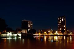 Zuiderhaven | Groningen, the Netherlands (frata60) Tags: nikon netherlands nederland groningen groothoek wideangle d300s 1224mm tokina avondfotografie nightshot night city stad zuiderhaven water building