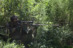 swamp sniper intervention (TheSwampSniper) Tags: airsoft sniper swamp bolt action ballahack marksman replica intervention elite force g28 novritsch owner field ghillie suit hood best dmr high powered spring aeg