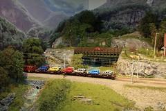 Berekvam H0  (18) (Rinus H0) Tags: modelspoorexpo expo 2016 leuven belgi belgium belgique louvain mstdemaaslijn berekvam h0 187 schaal gauge scale norway norwegian modeltreinen modelrailway modelleisenbahn modelspoor modeltrains trains cars trucks wagon nature scenery mountain