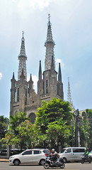 Gereja Katedral (BxHxTxCx (more stuff, open the album)) Tags: jakarta building gedung architecture arsitektur gereja church