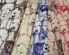 just alpacas small on eco canvas (Scrummy Things) Tags: alpacas alpaca illustration illustrative spoonflower scrummy sharonturner animals farming pattern surfacedesign cuteness cute farm ecocanvas fabric wallpaper