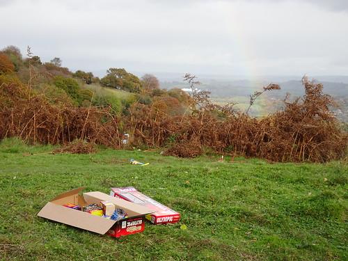 Mineslope Tips, Blaen Bran, Upper Cwmbran 6 November 2016