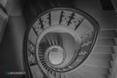 Spiraltreppe in s/w (Carismarkus) Tags: architektur berlin treppe treppenauge staircase