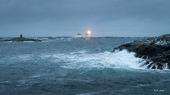 Homborsund fyr (Karl P. Laulo) Tags: homborsund fyr storm sea seascape