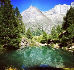 Sunday hike to Lac Bleu. (clairewade1) Tags: lacbleu valais switzerland