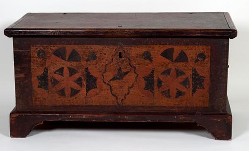 Paint Decorated Blanket Chest ($1,120.00)