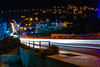 Biggest lane in Alhoceima (y.cheddi) Tags: long exposure cars city lights photography morroco alhoceima town sunset view nikon water landscape
