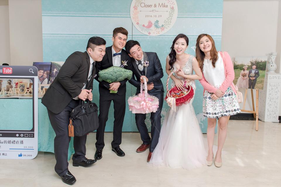台南婚攝 婚禮紀錄 情定婚宴城堡 C & M 174