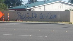 ROLLIN 60's CRIPS (northwestgangs) Tags: graffiti gangs everett crips snohomishcounty southeverett rollin60s cripgang