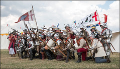 Battle of Bosworth Re-enactment 2015 (norman-bates) Tags: york redrose tudor lancaster whiterose bosworth 1485 battleofbosworth warsoftheroses richard3rd 2kingsoneday