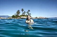 Angra dos Reis (felipe sahd) Tags: portrait praia beach brasil riodejaneiro retrato mergulho angradosreis oceanoatlântico