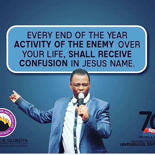 Join Dr  D K Olukoya , General Overseer of MFM World Wide