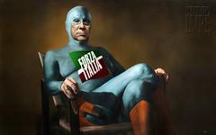 ex supereroe (@LuPe) Tags: mito elogio berlusconi eroe forzaitalia renzi politichese senato italicum riforma supereroe