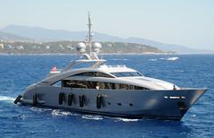 Silver Wind vor Monaco (dirklie65) Tags: boot yacht monaco azurblau dirklie65