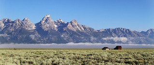 Grand Teton National Park, Morman Row Area
