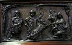 St Mark Worsley. Pulpit detail (Fiona Moate) Tags: salford georgegilbertscott victorianchurch earlofellesmere stmarkworsley