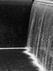 Tears Falling Like Rain (Don Henderson) Tags: nyc newyorkcity bw rain sadness blackwhite tears wtc prayers 911memorial meloncholy myfujifilm s200exr myfujis
