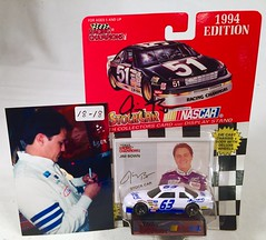 #18-18, Jim Bown, Signing, Racing Champions, 1994, Lysol, #63, Busch, (Picture Proof Autographs) Tags: auto classic cars scale car sign real toy toys photo model automobile image display models picture images collection vehicles photographs photograph collections nascar displays 164 vehicle driver proof session autoracing autos collectible collectors signing automobiles collectibles authentic sessions collector drivers genuine diecast winstoncup carded buschseries inperson 164th photoproof authenticated blisterpacks pictureproof