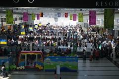 Busy Baggage Carousels (josbert.lonnee) Tags: luggage busy baggage crowded baggagecarousels antalyainternationalairport antalyaairport