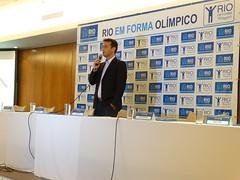 Marcio Barbosa (Gerente de Projetos) abre o evento.