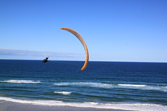 Broadwater Paraglide (SteepTakeoff) Tags: paragliding paraglider broadwater national park glide gliding evans head fly steeptakeoff
