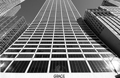 Grace Building - NYC (Marcela McGreal) Tags: nyc newyorkcity blackandwhite bw white newyork black building byn blancoynegro blanco branco blackwhite nikon raw noir noiretblanc manhattan negro preto bn bianco blanc nero pretoebranco schwarz bianconero biancoenero 42ndstreet noirblanc blanconegro pretobranco weis gracebuilding schwarzundweis nikond3300