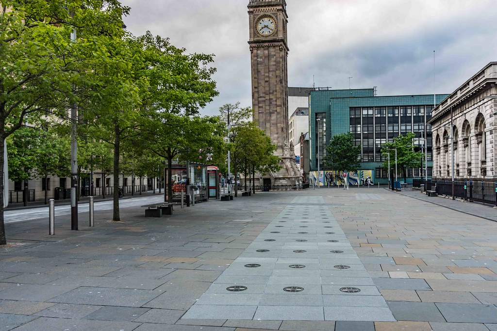 ALBERT MEMORIAL CLOCK [BELFAST'S ANSWER TO THE LEANING TOWER]-108817
