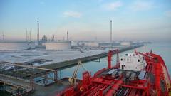 Tanker @ Rotterdam (Gunnar Eide) Tags: ocean sea ship transport maritime shipping tanker tankers odfjell