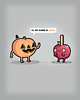 Jack-o-lantern (randyotter) Tags: food silly color art fruit illustration children design cool funny awesome vegetable artsy buy colourful threadless clever whimsical puns randyotter