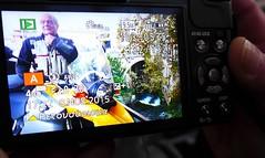 Me and your LX7 through my LX7!! (sifis) Tags: street camera color me lumix panasonic greece bmw 1200 gs touring selfie lx7 sakalak