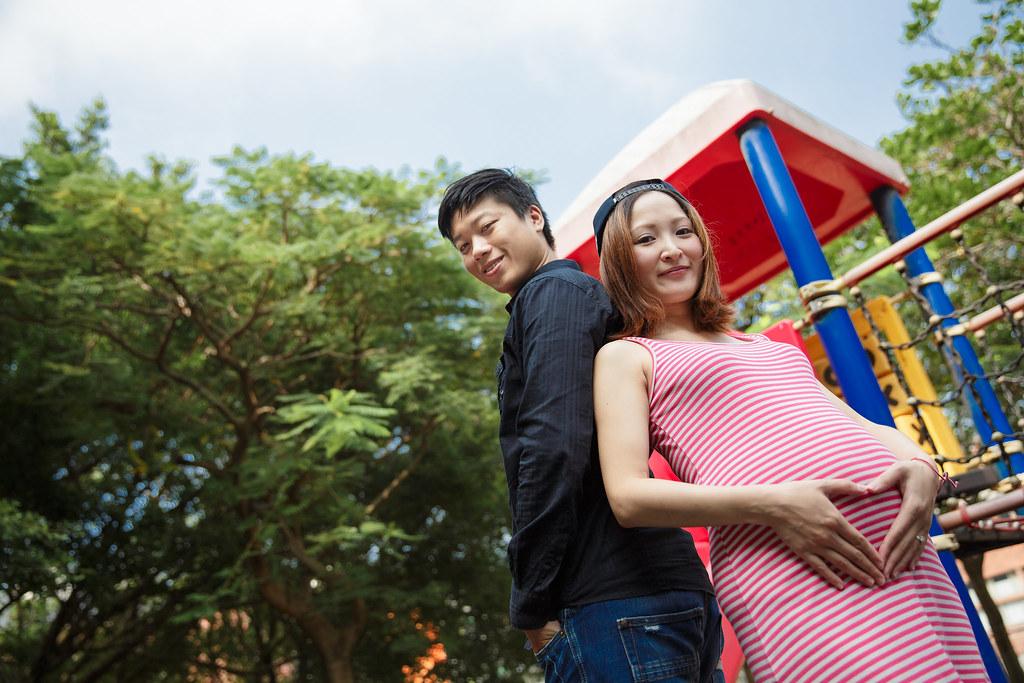 孕婦寫真,孕婦攝影,公園孕婦,稻田孕婦,海邊孕婦,時尚孕婦,Lion&Lys01