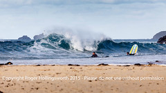 Gwithian Beach (doublejeopardy) Tags: sea beach sport surfer lifestyle wave gwithian hayle
