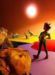 Peter Pan -- Dinosaur Planet (stalnakerjack) Tags:
