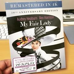 マイ・フェア・レディの4Kデジタルリマスター版BDが届いた。綺麗になった映像はもちろん、池田昌子さんによる吹き替えが収録されているのが嬉しい! #映画 #マイフェアレディ #池田昌子