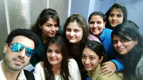 Gavie chahal with LinguaSoft Staff at Chandigarh