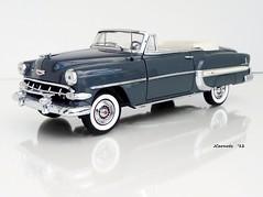 1954 Chevrolet Bel Air Convertible (JCarnutz) Tags: chevrolet belair 1954 diecast franklinmint 124scale