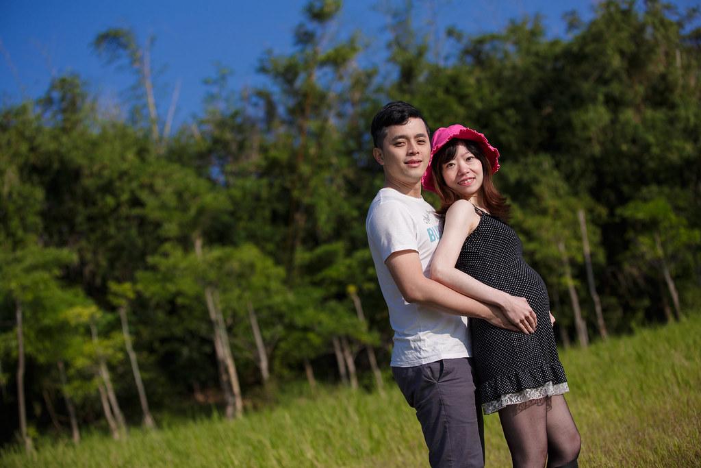 孕婦寫真,孕婦攝影,樹林孕婦,芒草孕婦,草原孕婦,Ajax&Far016