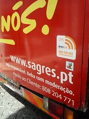 Lisboa Portugal (bimimonsters) Tags: beer pirates stickers cerveja van piratas sagres carrinha enois bimimonsters